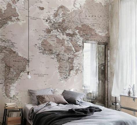 papier peint chambre adulte romantique kirafes