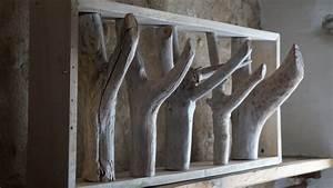Porte Manteau Mural Moderne : fabriquer porte manteau bois flott ~ Teatrodelosmanantiales.com Idées de Décoration