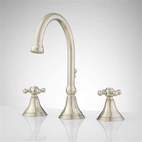 melanie widespread gooseneck bathroom faucet