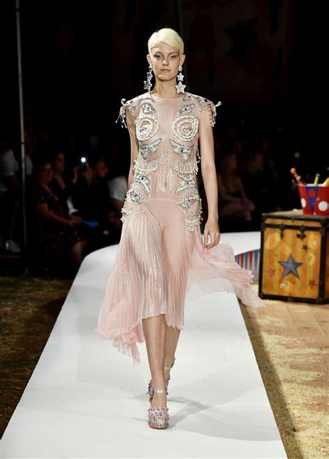 moschino fashion show mfwm  fashiontvcom