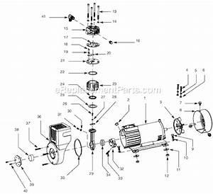 Campbell Hausfeld Ex801700 Parts List And Diagram