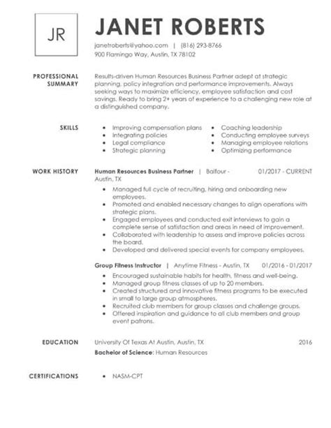 Find Out Which of the 3 Resume Formats Matches Your Experience