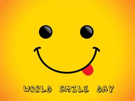 world smile day celebrated