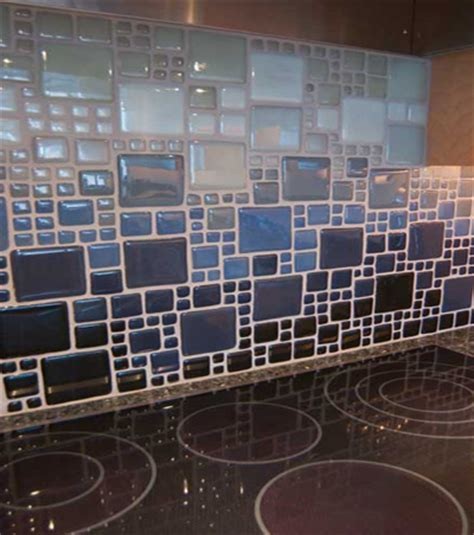 eco friendly backsplash materials recycled glass tile