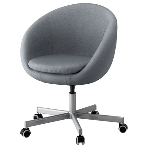 ikea office desk chair skruvsta swivel chair flackarp grey ikea