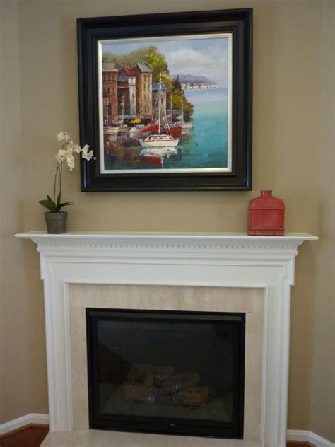 simple mantel simple fireplace mantel decor