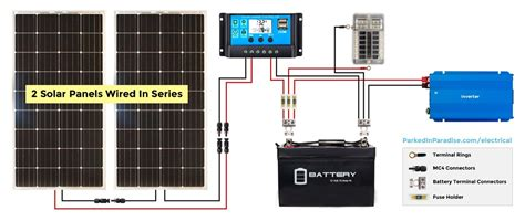 Wiring Diagram On How Work Solar Panel by Solar Calculator And Diy Wiring Diagrams Build