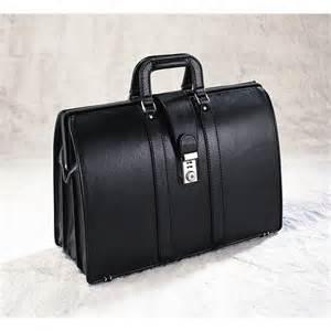 Black Vintage Briefcase Lawyer