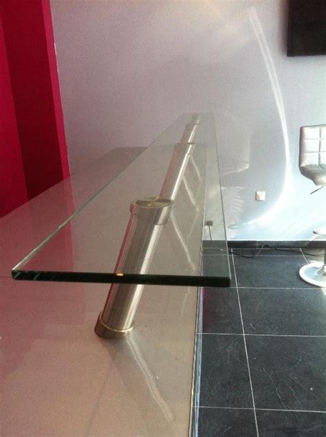 plateau de bureau en verre sur mesure revger com plateau en verre pour table sur mesure idée