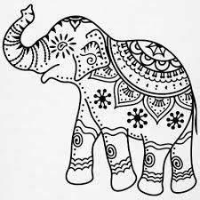 Mandala Indian Elephant Tattoo Stencil By | Cancer ...