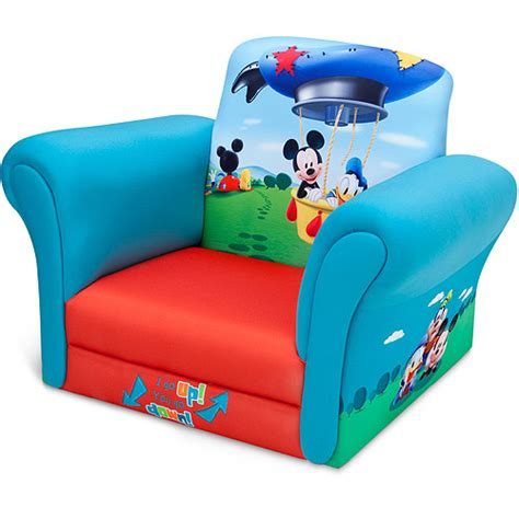 Toddler Chair Walmart by Disney Mickey Mouse Upholstered Chair Walmart