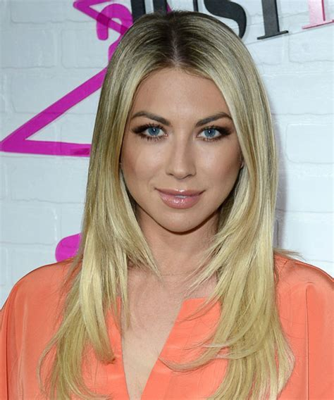 Stassi Schroeder Long Straight Formal Hairstyle   Light