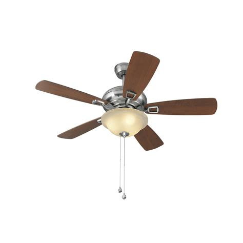 Harbor Ceiling Fan Issues by Shop Harbor Windrise 44 In Brushed Nickel Downrod