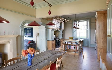 kitchens with small islands traditional painted kitchen 6646