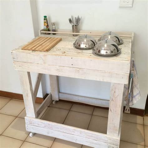 shabby chic kitchen island 125 awesome diy pallet furniture ideas