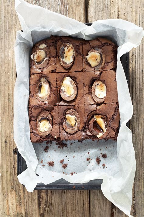 cuisine type cadbury creme egg brownies recipe cookbakeeat