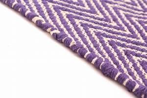 Teppich 400 X 400 : teppich 300 x 400 cm baumwollteppich marina lila ~ Orissabook.com Haus und Dekorationen