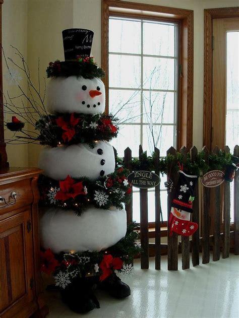 cute snowman christmas decorations   home