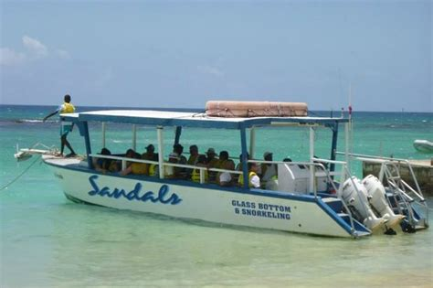 Glass Bottom Boat Ocho Rios Jamaica by The Boat That Is Used For The Glass Bottom Boat Tour And