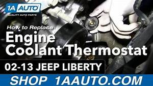 How To Install Replace Engine Coolant Thermostat And