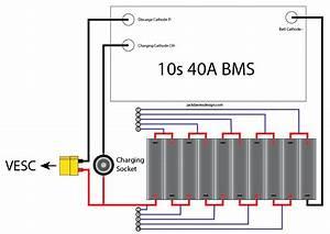10s 18650 Bms Battery Build - Esk8 Electronics