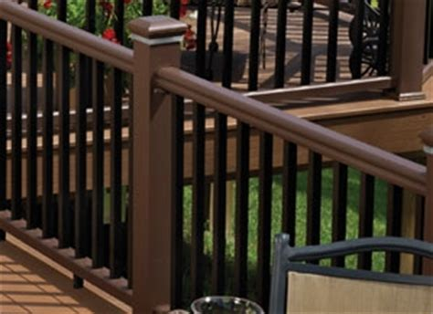 walnut kona stair rail pack timbertech express