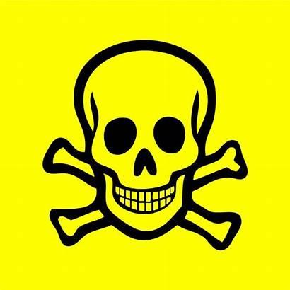 Poison Clipart Sign Venomous Cliparts Toxic Symbol