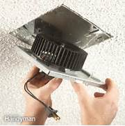 Install A Bath Exhaust Fan by How To Install An Exhaust Fan The Family Handyman