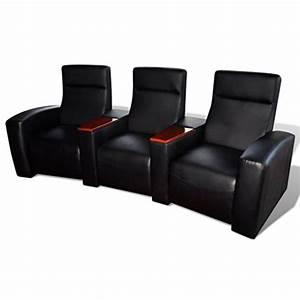 1 5 Sitzer Sessel : vidaxl luxus ledermix heimkinosessel 3 sitzer kinosessel ~ Indierocktalk.com Haus und Dekorationen