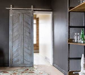interior sliding barn doors bring classic elegant With barnyard style sliding doors