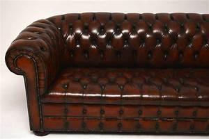 Chesterfield Sofa 4 Sitzer : antikes tief gekn pftes leder chesterfield 3 sitzer sofa ~ Bigdaddyawards.com Haus und Dekorationen