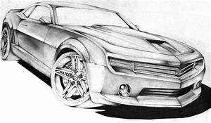 Camaro Sketch by FrancoisSmit on DeviantArt