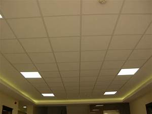 Dalles De Plafond A Coller : plafond suspendu en mati re dalle lavable 60x60 destockage grossiste ~ Farleysfitness.com Idées de Décoration