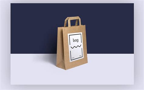 Knowing these do not cost you a dime, feel free to create a collection of mockup templates, which you can always have access to. Customizable Paper Bag Mockup | Mockup World