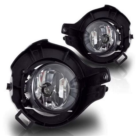 nissan frontier pathfinder clear housing oem style fog lights