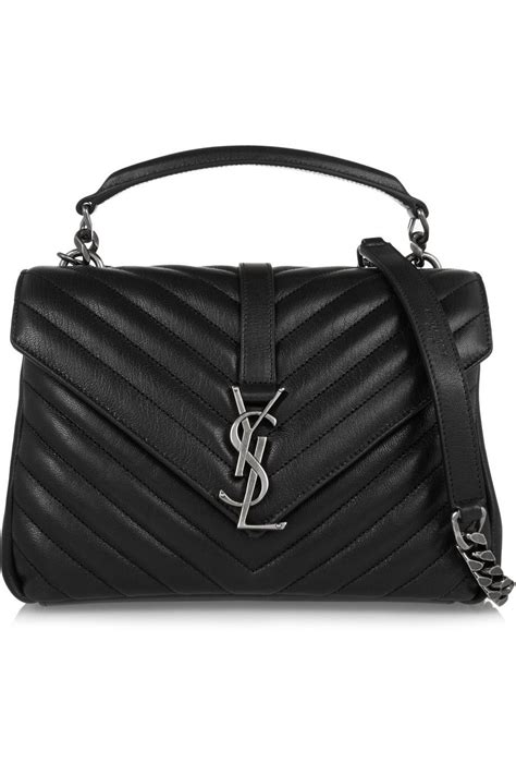 laurent college medium quilted shoulder bag 1 690 00 fashion bags ysl bag