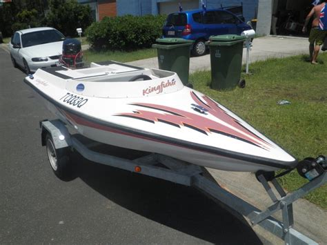 Speed Boats For Sale Gold Coast by Mini 3m Speed Boat On Trailer 18hp Outboard For Sale Qld