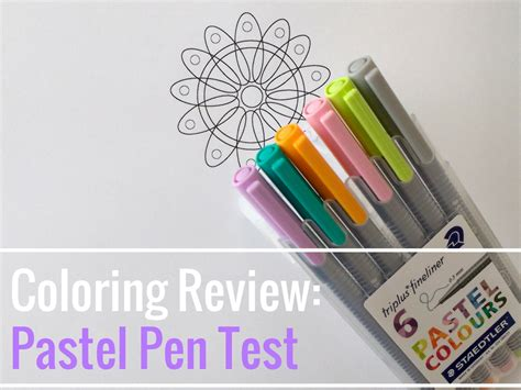 Coloring Pastel by Coloring Review Pastel Pen Test The Coloring Book Club