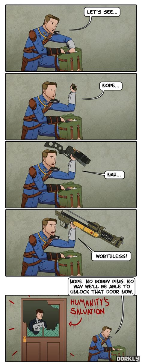 Fallout Locksmith Woes Video Game Logic Know Your Meme