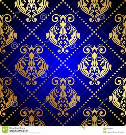 Gold Background Navy Royal Luxury Backgrounds Ornament