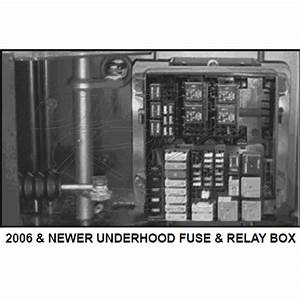 13886538 - 2006  W-series Fuse  Relay Box Cover