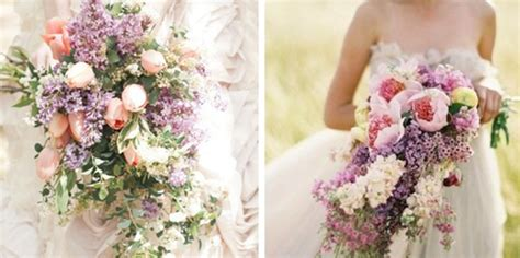 Hot Wedding Trend: Cascading Bouquets Pretty Happy Love
