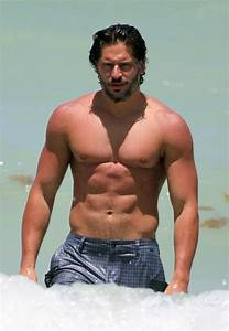 Joe Manganiello sighting at the beach in Miami | Male ...