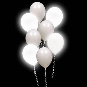 Lumi-Loons Balloon Lights White Balloons White Lights - 10