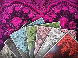 Mesh Embroidered Sequin Fabric    54 U0026quot  Wide    Sold By The