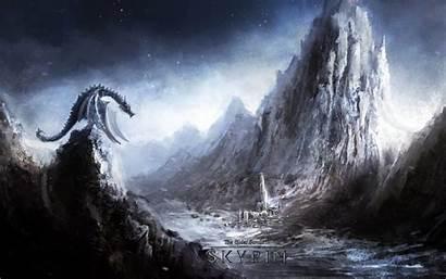 Skyrim 4k Dragon Wallpapers