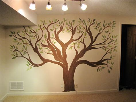Creative Genius Art Family Tree Wall Mural