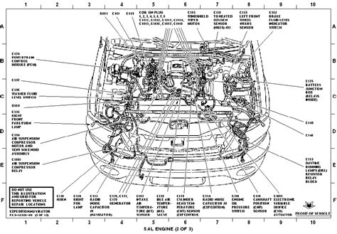 2005 Lincoln Town Car Engine Diagram by Need Lincoln Navigator Air Suspension Electrical Schematic