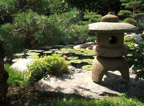 small japanese garden  green  refreshing exhibition