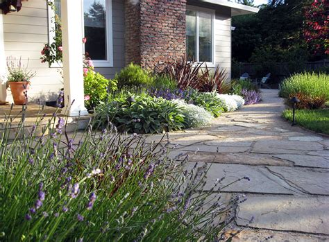 garden san anselmo mediterranean landscape remodel with cottage style appeal